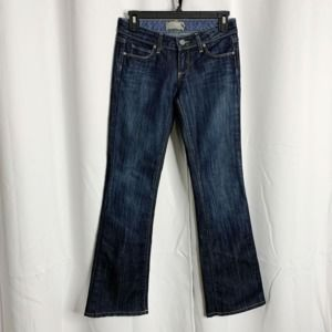 paige laurel canyon 25 jeans Bootcut distressed
